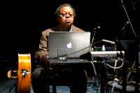 George Lewis and Evan Parker at Glasgow Improvisers Orchestra Festival V