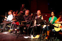 Glasgow Improvisers Orchestra and guests Evan Parker, George Lewis and Maggie Nicols at Glasgow Improvisers Orchestra Festival V