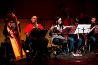 """Three Envelopes For E.M."" by George Burt with Tam Dean Burn and Glasgow Improvisers Orchestra at Glasgow Improvisers Orchestra Festival V"