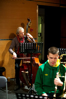 Glasgow Improvisers Orchestra recording with George Lewis and Maggie Nicols