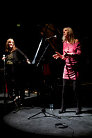 Marilyn Crispell and Maggie Nicols at Glasgow Improvisers Orchestra Festival VI