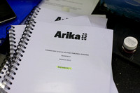 'Combatant Status Review Tribunals pp. 002954 to 003064: A Public Reading' by Katya Sanders, Andrea Geyer, Ashley Hunt, Sharon Hayes & David Thorne at Arika 12: Episode 3: Copying Without Copying