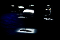 'De Musicorum Infelicitate' by Walter Marchetti, performed by Esther Ferrer, at Arika 12: Episode 2: A Special Form Of Darkness