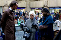 Cryptic presents Station Stories at Waverley Station, Edinburgh on Saturday 13th December 2014