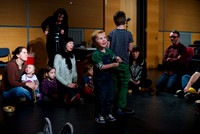 Children's workshop at Glasgow Improvisers Orchestra Festival VII
