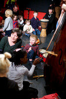 Children's workshop at Glasgow Improvisers Orchestra Festival VI