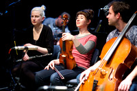 'Parallel Moments Unbroken' by Raymond MacDonald performed by GIO with Marilyn Crispell & Maggie Nicols at Glasgow Improvisers Orchestra Festival VI