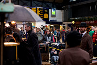 Cryptic presents Station Stories at Queen Street Station, Glasgow