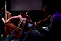 Maya Dunietz & Ilan Volkov with guests at Glasgow Improvisers Orchestra Festival VII