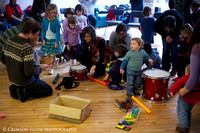 'Improvisation for 3-5 Year Olds' Workshop at Glasgow Improvisers Orchestra Festival IV