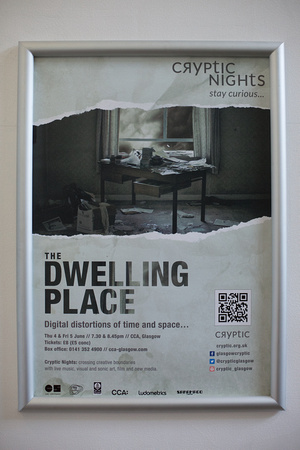 Cryptic Nights presents 'The Dwelling Place' by Jamie & Lewis Wardrop at CCA in Glasgow on Thursday 4th June 2015