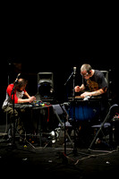 Arnaud Riviére and Fritz Welch at Glasgow Improvisers Orchestra Festival VI