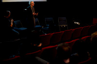 Film discussion with Jo Ganter & Raymond MacDonald at Glasgow Improvisers Orchestra Festival VII