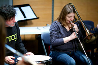 Open improvisation workshop led by Gail Brand at Glasgow Improvisers Orchestra Festival VI