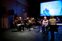 Gino Robair & GIO perform 'Amanuensis' at Glasgow Improvisers Orchestra Festival VI